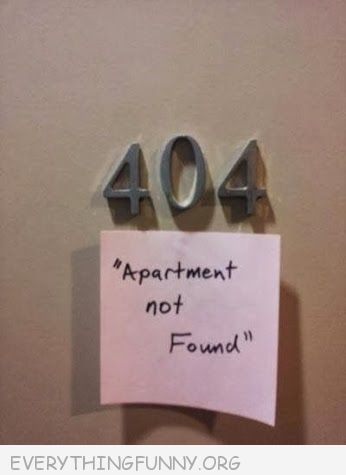 404-Apartment not found